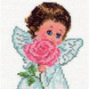 """Набор для вышивания крестом """"Ангелок любви"""""""