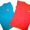 Блуза для девочки с аппликацией