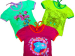 Блуза для девочки с принтом