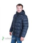 Куртка зимняя мужская ЗМ10-1 тёмно-синий