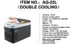 Автохолодильник AQ-22L (22 литра)