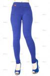 Лосины- брючки (плотная х/б ткань) Julia blue