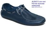 Обувь мужская AL 063/1 син кож