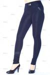 Зауженные темно-синие брюки Tonya navy blue