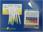 Лакмусовая бумага (pH тест) 100 полосок, пластиковый бокс, от 1 до 14 pH