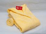 Халат махровый детский капюшон Желтый