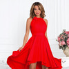 Платье красное с бантом американка