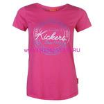 Футболка женская Kickers(6592007806)