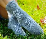 Носки шерстяные N1R9-1 - женские