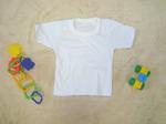 ФТ0101Б Футболка детская универсальная белая (кулир). Упаковка 3шт.