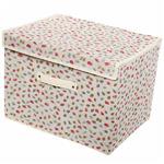 Коробка для хранения вещей 41*30*30 Листочки