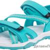 724005-12 бирюзовый туфли летние школьно-подростковые комбинирован. 36-40