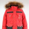 Куртка зимняя подростковая Аляска Красный/синий