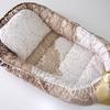 Гнездышко для новорожденного с подушкой Дамаск
