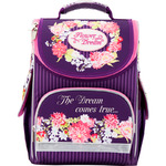 Рюкзак школьный каркасный 501 Flower dream