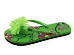 52138-W_4 МИЛТОН Туфли пляжные Школьная/девичья Зелёный Дев.
