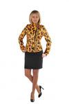 Куртки демисезонные Винил Леопард
