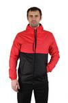 Куртка демисезонная Плащевка Черно-красный