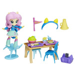 My Little Pony Equestria Girls Minis Fluttershy School Cafeteria Set