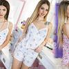 Мягкая, романтичная пижама для сладких снов.