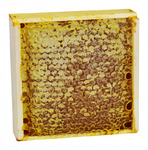 Мед в сотах гречишный (прогальского рамка)в рамке 350 гр (проставлять количество в рамках)