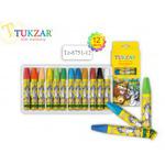 Пастель масляная для детского творчества 12цв Tukzar