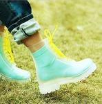 Прозрачные ботинки Invisible-Shoes Бесцветные
