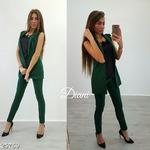 Костюм жилет+брюки 42-44