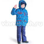 Демисезонный комплект Kiko для мальчика ФЕЛИКС (электрик/красный), 1-8 лет