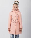 """Пальто для девочки """"Бант"""" (рост 128 см)"""