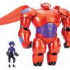 """Big Hero 6 11"""" Deluxe Flying Baymax with 4.5"""" Hiro Action Figures"""