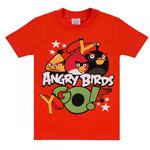 Футболка Медвежонок Angry Birds для мальчика