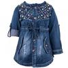 Джинсовая куртка SanMuTong Graceful для девочки