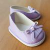 Туфли лаковые фиолетовые