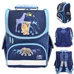 Ранец школьный ANIMAL PLANET too cute, разм.34 x 25 x 13 см,жесткая анатом спинка,синий,для мальчик