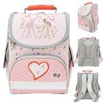 Ранец школьный ANIMAL PLANET too cute, разм.34 x 25 x 13 см,жесткая анатом спинка,розовый,для дев