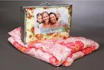 Одеяло детское файбертекс (450гр/м) бязь