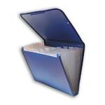 Папка-портфель на резинках на 13 отделений, ассорти