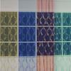 Органза с вышивкой веточками