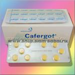 Таблетки против мигрени, головной боли Cafergot