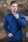 "Рубашка мужская ""ANG"" 8232720-т.сн"