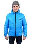 Демисезонная мужская куртка СМ-49 Голубой