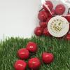 Яблоко красное декоративная 25мм (1упаковка- 20шт)