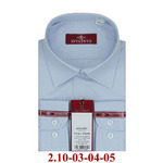 2.10-03-04-05 сорочка детск св.голубая точка микро длин