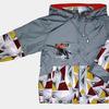 4113 Куртка для мальчиков на флисе
