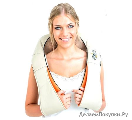 Массажер роликовый для шеи и спины