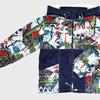 4409 Куртка для мальчиков на флисе