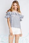 Блуза с макраме