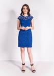 3394с Платье /синий