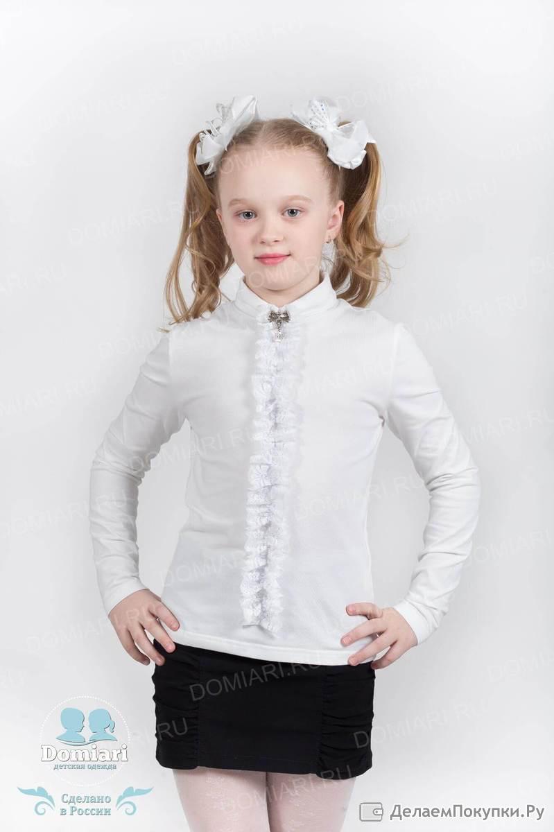 Купить красивые блузки к школе